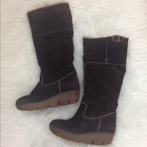 Michael Kors Calf Winter Boots Brown